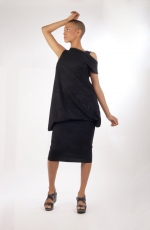 robe atawo chilia en lycra rouge vêtement de créateur original à prix abordable