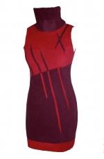 robe-ilerpy-créatrice-artisanale-fashion-fushia-recto