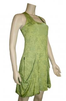 robe volcarr vert chilia fabrication francaise mode originale et artisanale créateur de mode toulouse agréable à porter collect