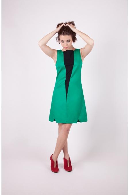 Robe pytha chilia vert recto boutique en ligne vetement createur original