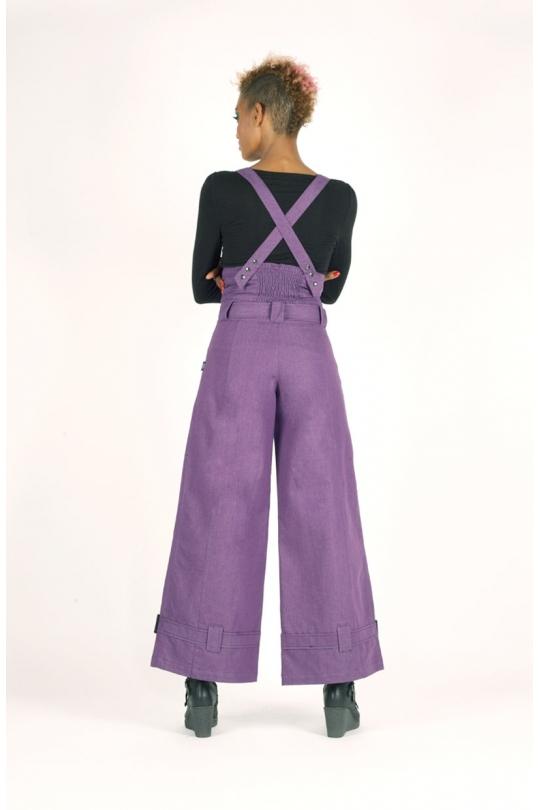 salopette masmira styliste toulouse jean violet verso