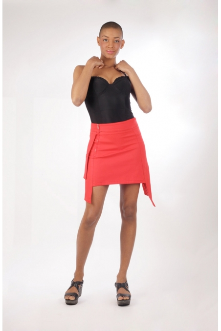 jupe kupa chilia rouge en série limitée agréable à porter