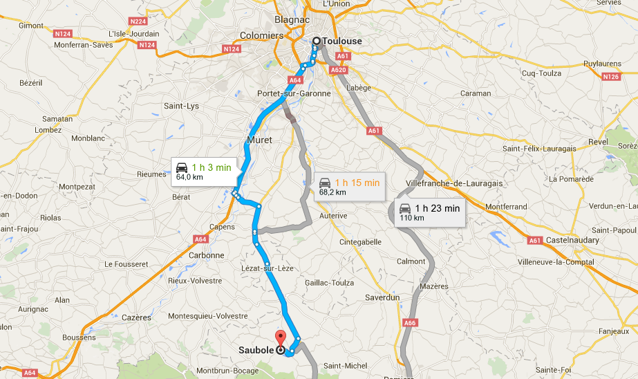 Plan Toulouse - Carla Bayle