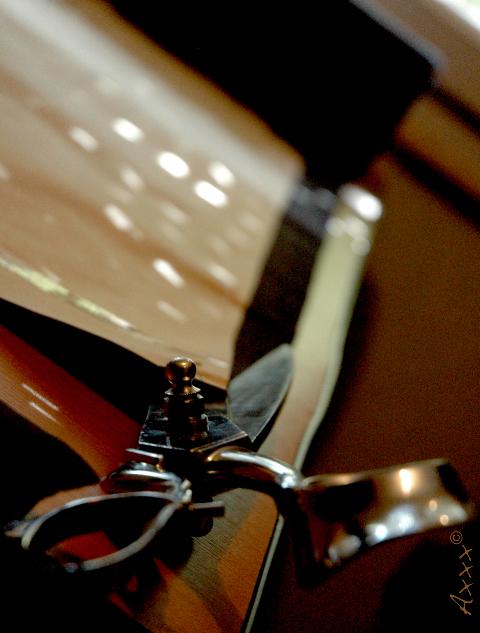 Ciseaux coupe atelier
